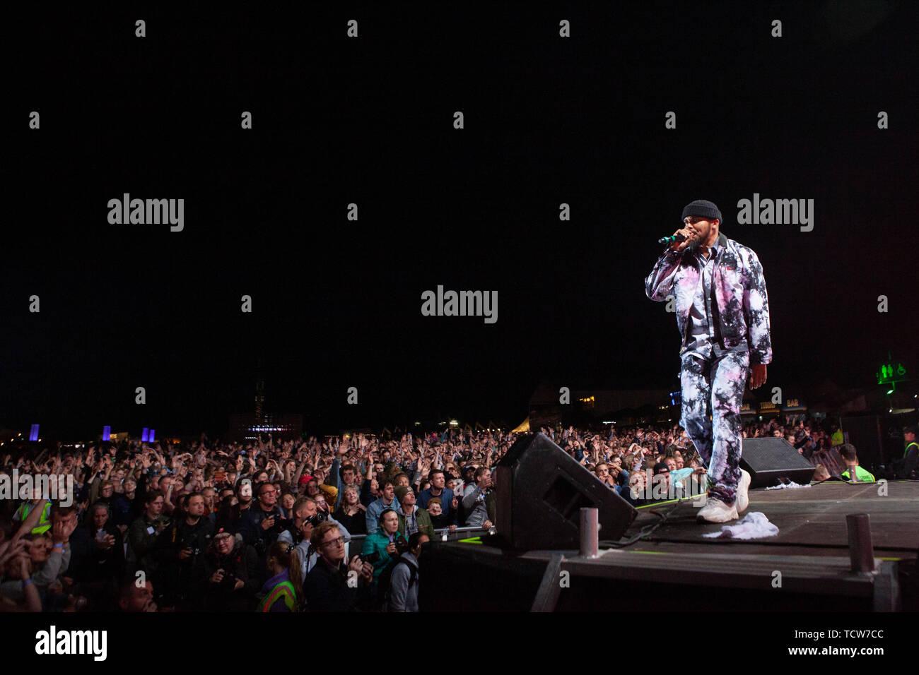 Denmark, Aarhus - June 8, 2019  The electronic music project