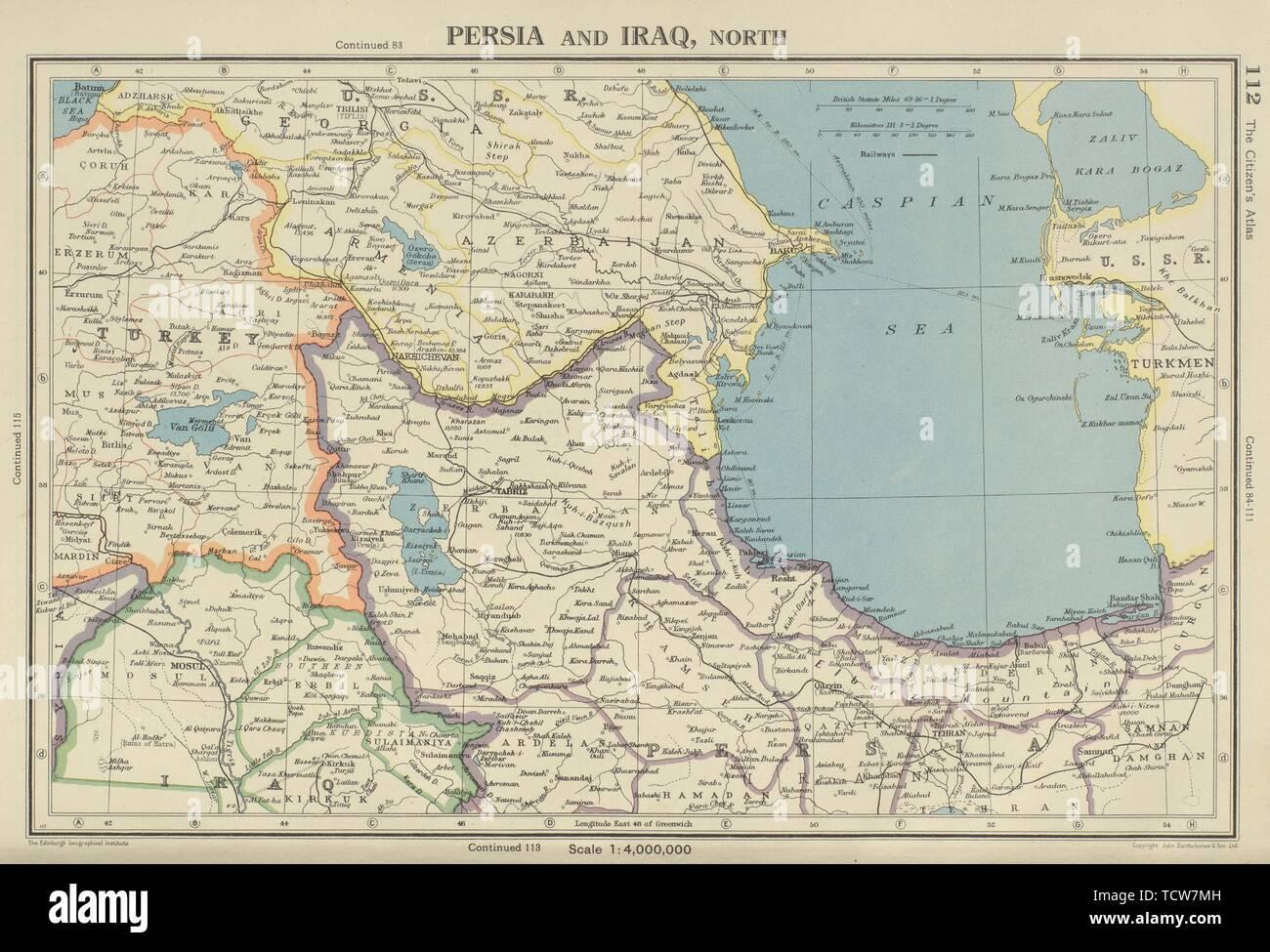 SOUTHERN CAUCASUS  Persia (Iran) North Iraq  Azerbaijan Armenia