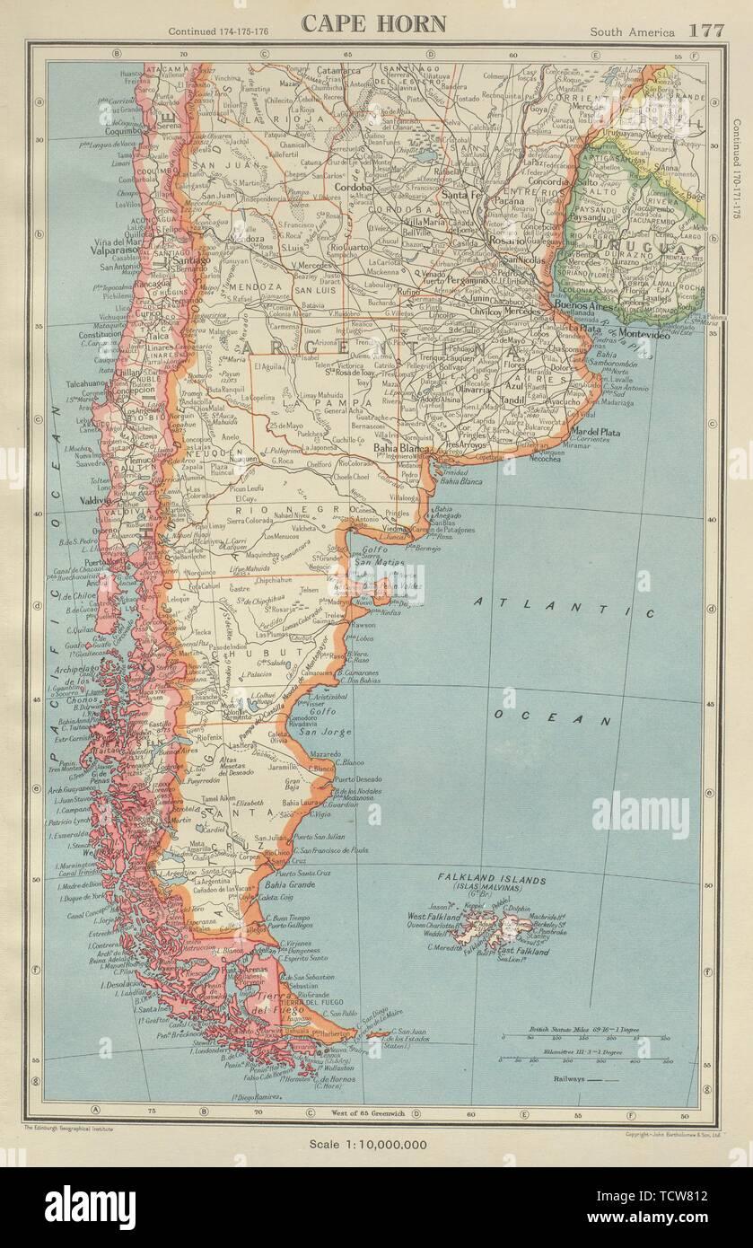 CAPE HORN. Patagonia Argentina Chile Falkland Islands ...