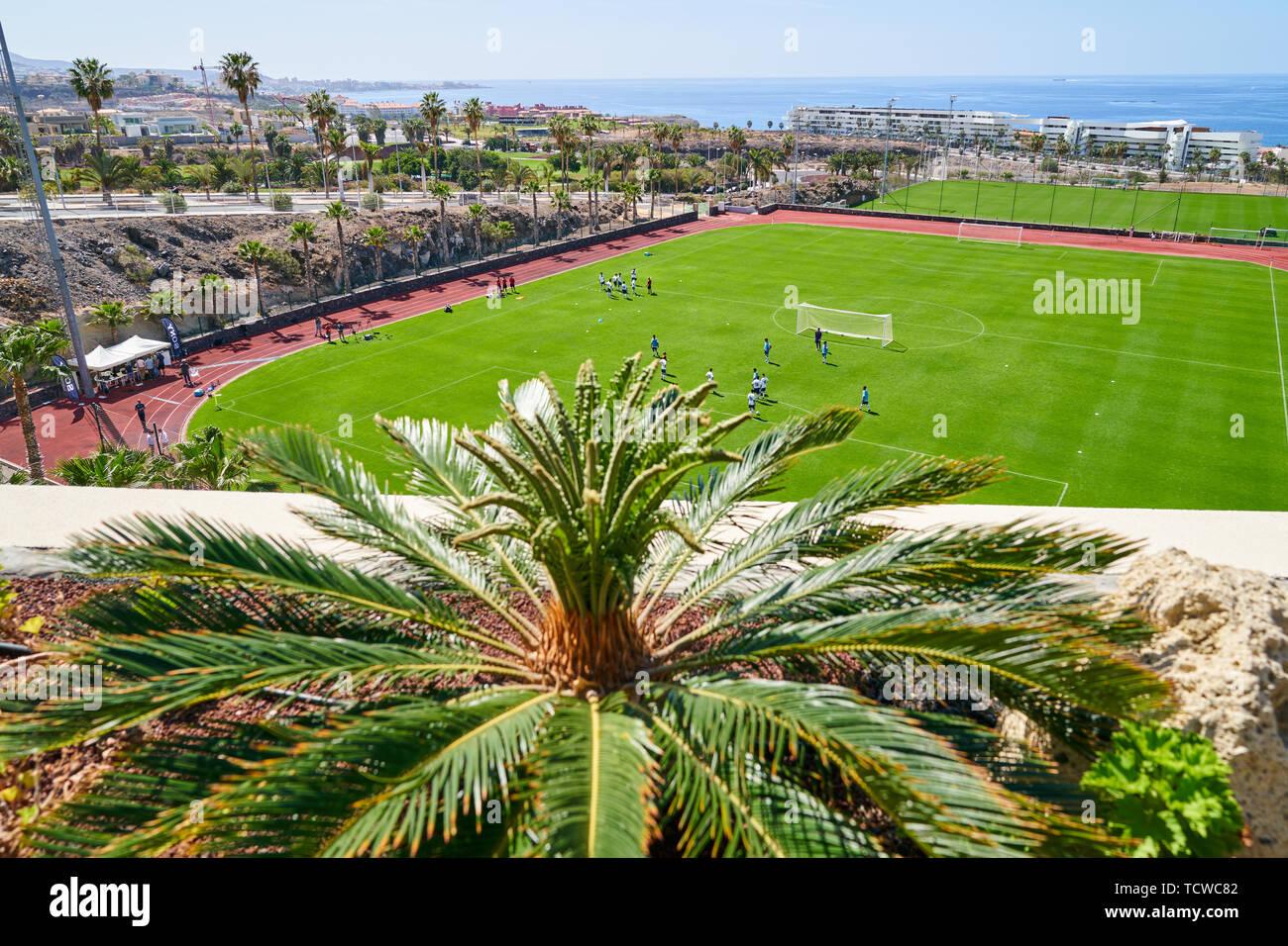 Tenerife Top Training, athletes training center in Santa Cruz de Tenerife, Tenerife, Spain, March 17, 2019. © Peter Schatz / Alamy Stock Photos - Stock Image