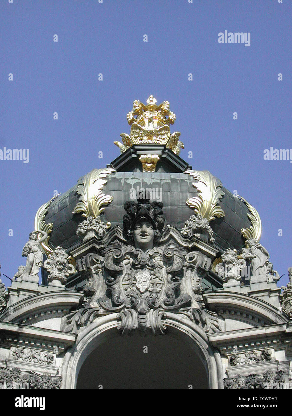 Dresden on March 28, 2002; Zwinger - Stock Image