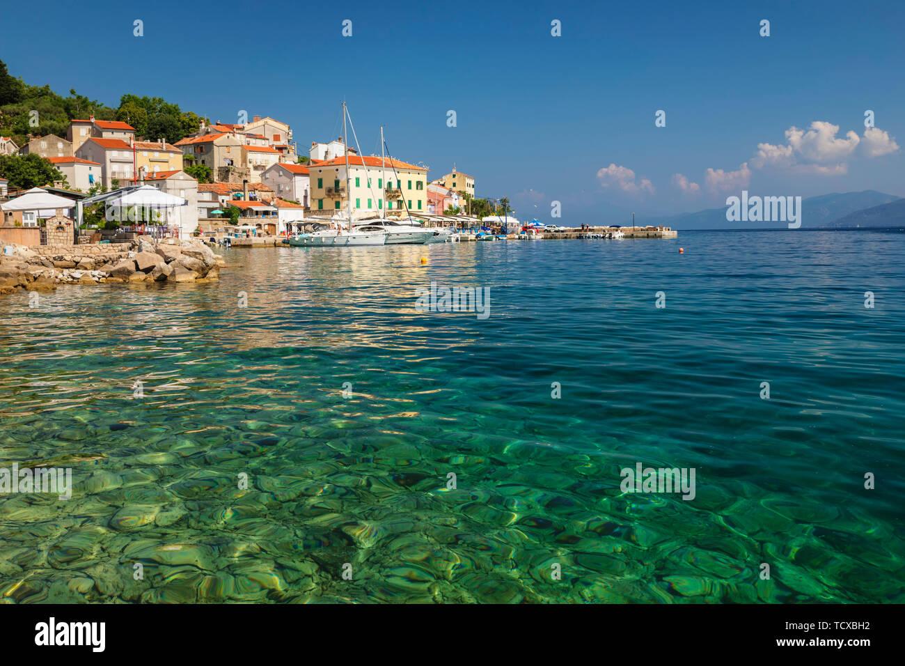 Valun, Cres Island, Kvarner Gulf, Croatia, Europe Stock Photo