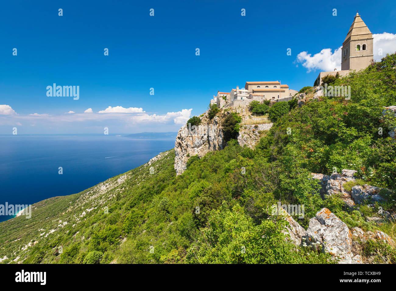 Lubenice, Cres Island, Kvarner Gulf, Croatia, Europe Stock Photo