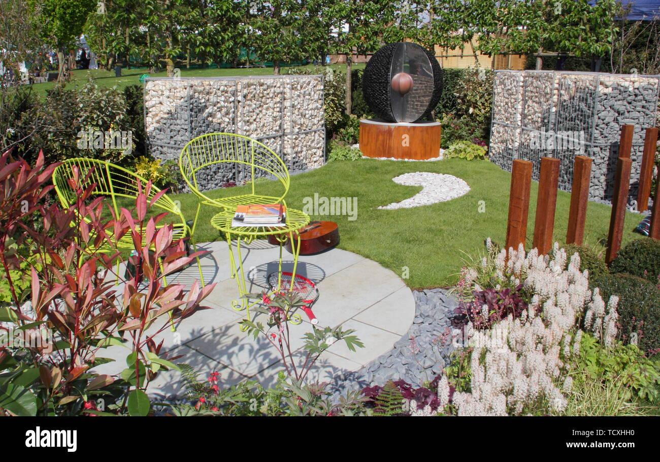 The Mental Health Garden, designed by Jo Manfredi-Hamer Garden