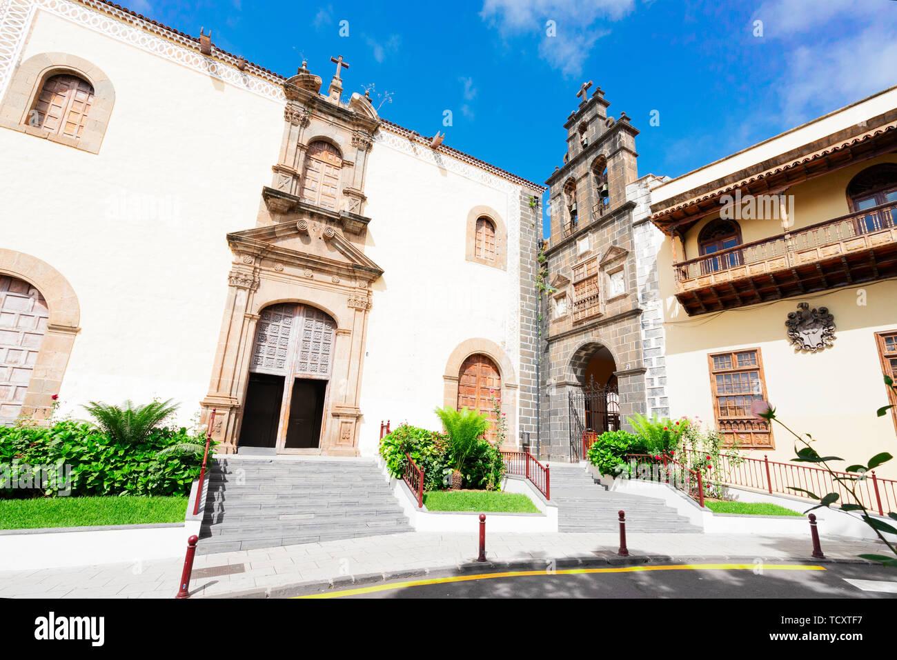 church of San Augustin - Stock Image