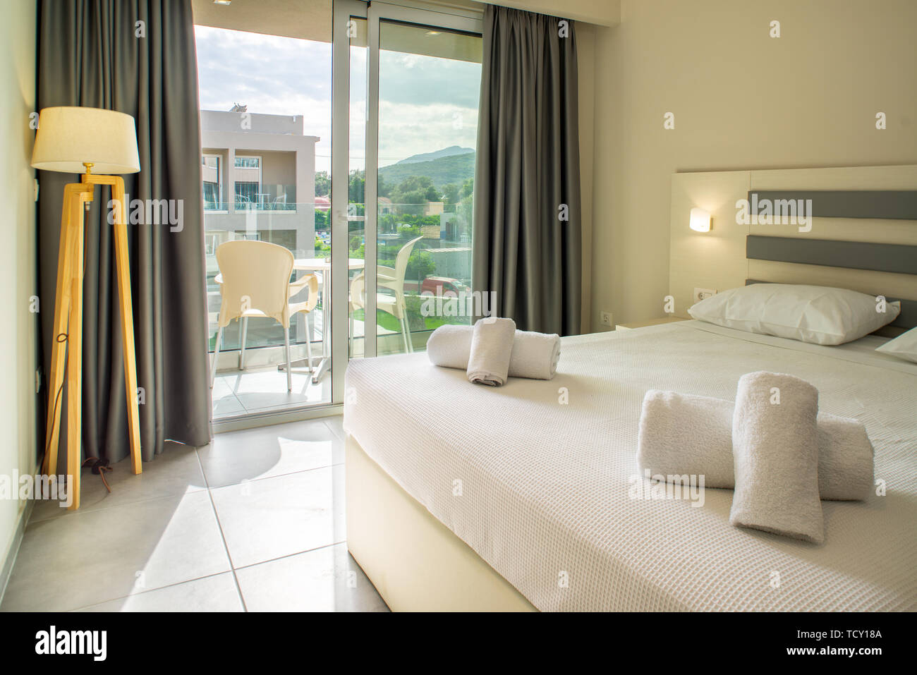 Luxury Modern Hotel Room Stock Photo 248914746 Alamy
