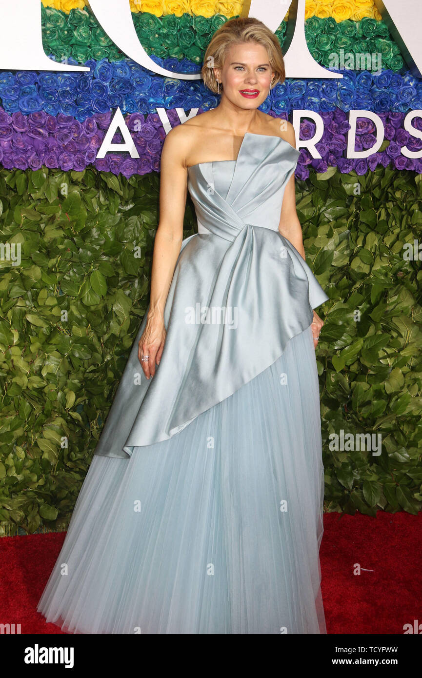 June 9, 2019 - New York City, New York, U.S. - Actor CELIA KEENAN-BOLGER  attends the 73rd annual Tony Awards held at Radio City Music Hall. (Credit Image: © Nancy Kaszerman/ZUMA Wire) - Stock Image