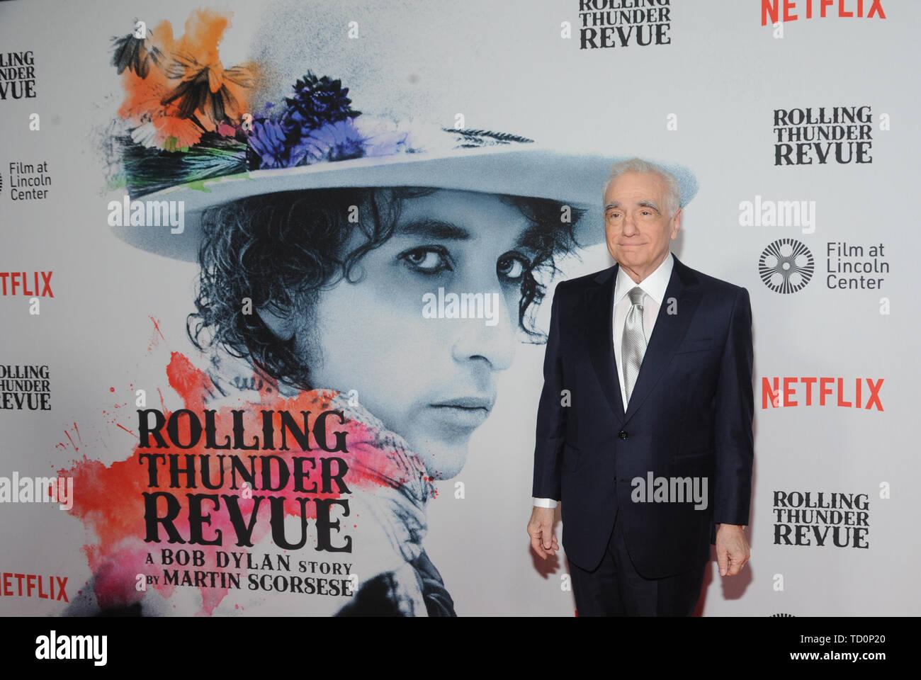 New York, NY, USA  10th June, 2019  Martin Scorsese at the