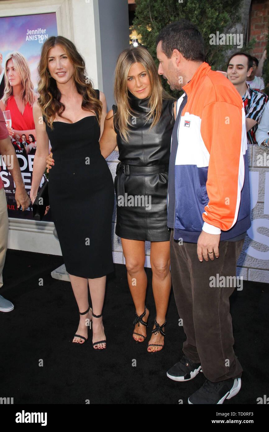 Los Angeles, USA  10th June, 2019  Jackie Sandler, Jennifer