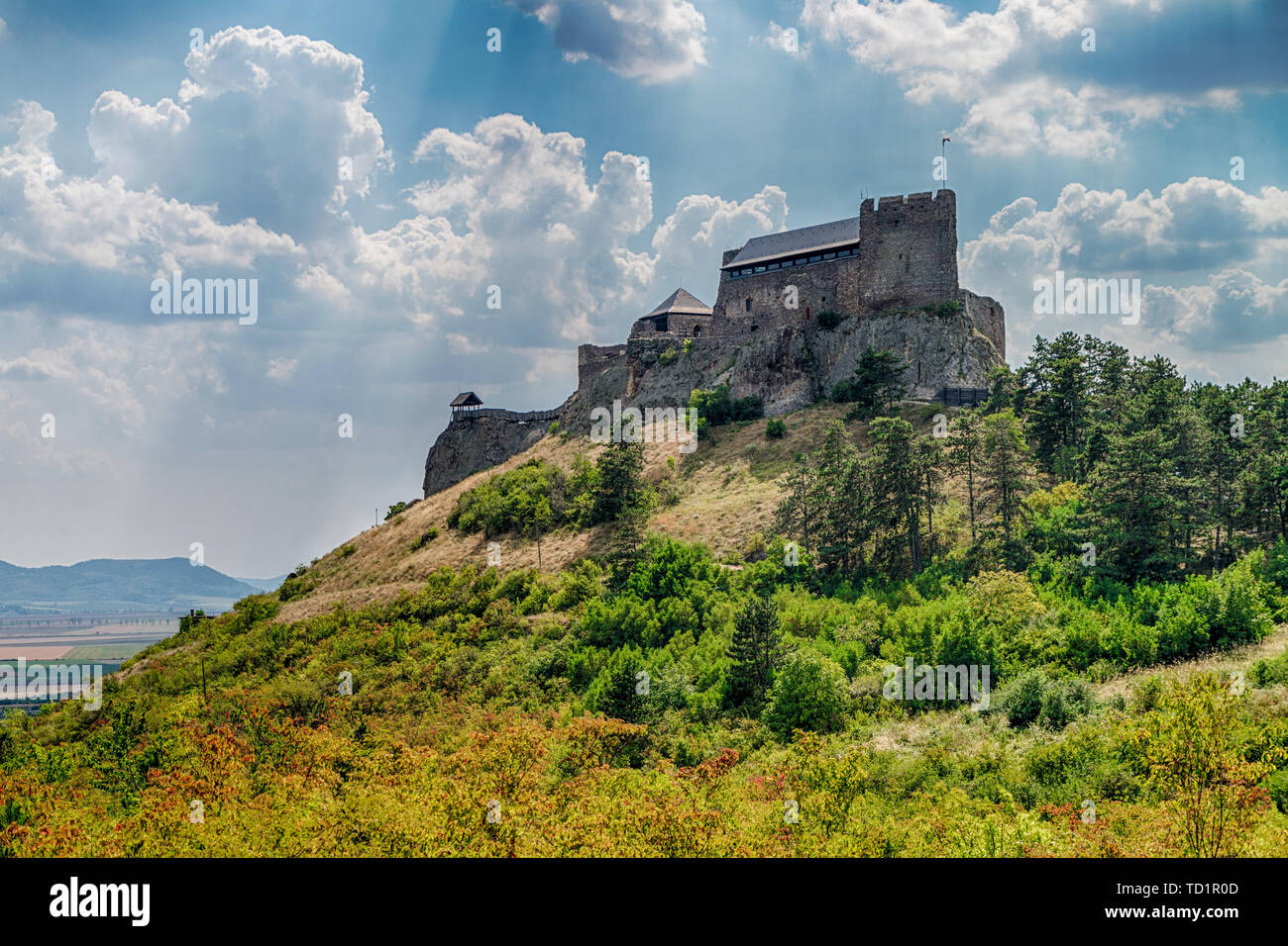 Castle of Boldogko in Hungary, Europe - Stock Image