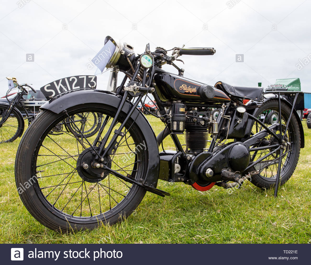 1926 Raleigh 2 3/4 Sports - Stock Image