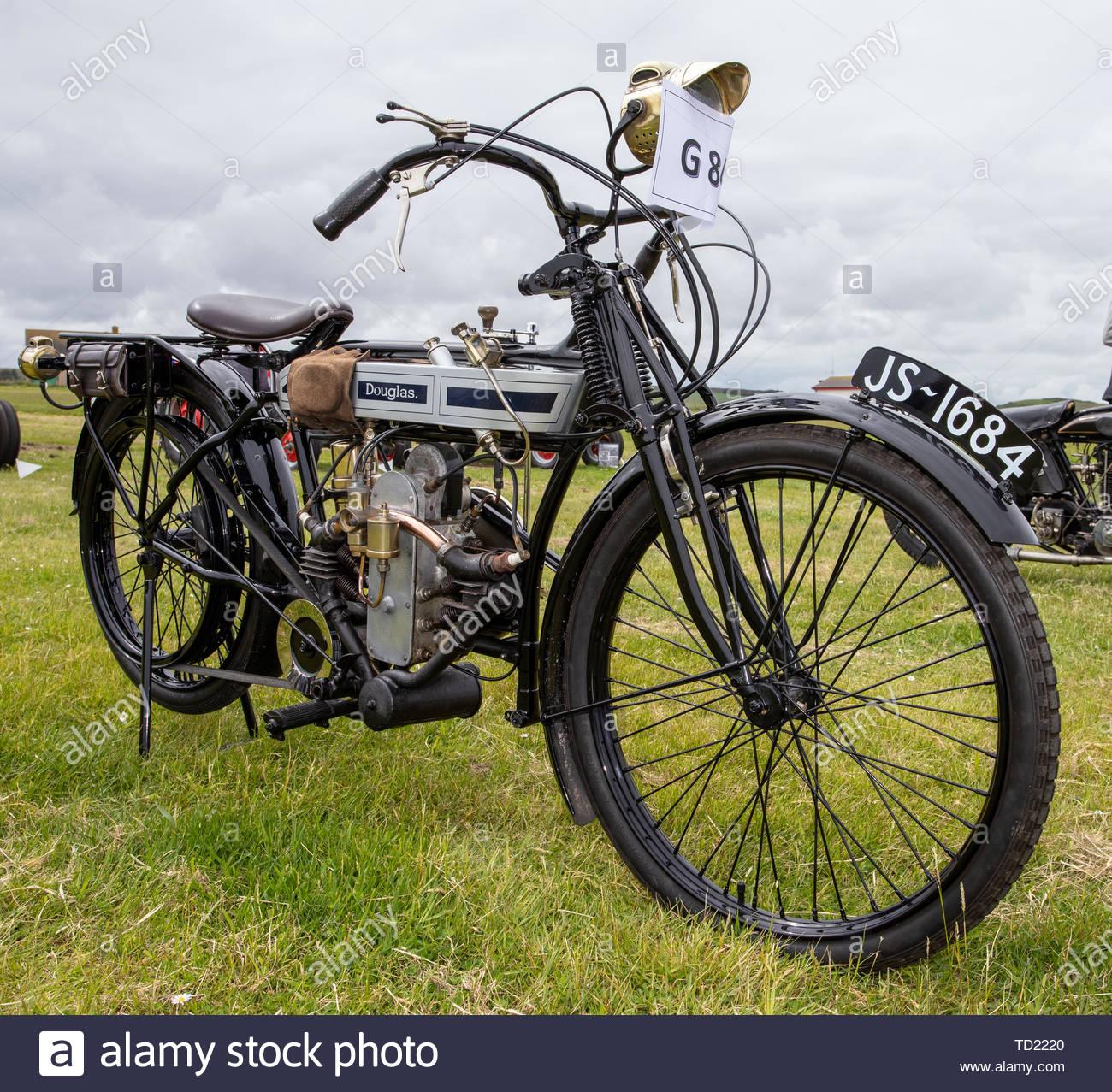 1914 Douglas 2 3/4 HP Stock Photo