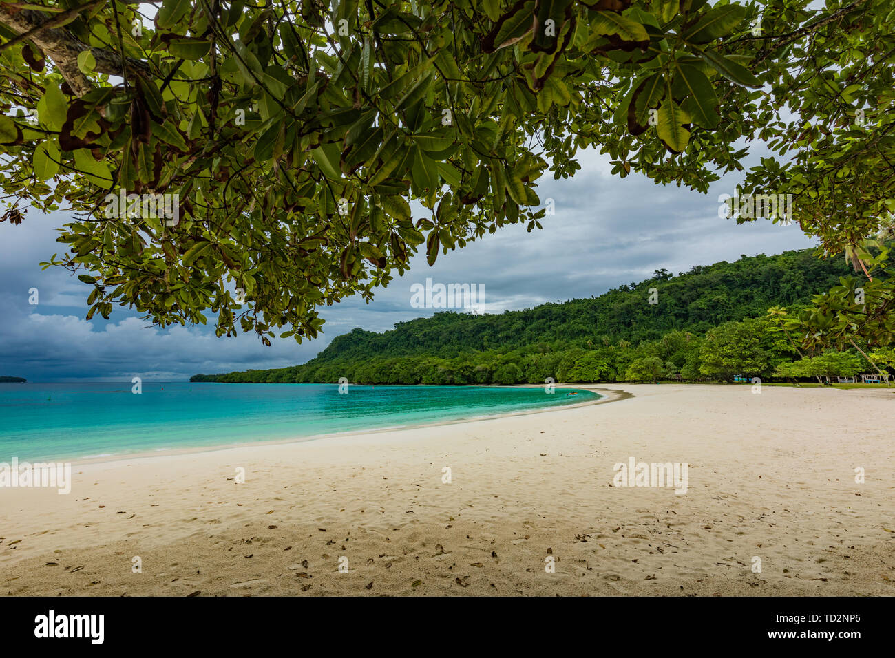 Famous Champagne Beach Vanuatu Espiritu Santo Island Near Luganville South Pacific Stock Photo Alamy