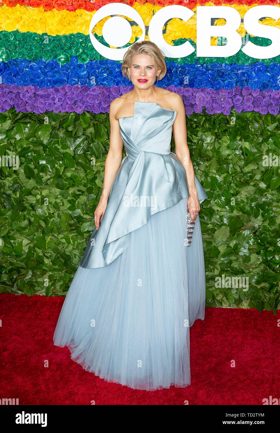 New York, United States. 09th June, 2019. Celia Keenan-Bolger attends the 73rd annual Tony Awards at Radio City Music Hall Credit: Lev Radin/Pacific Press/Alamy Live News - Stock Image