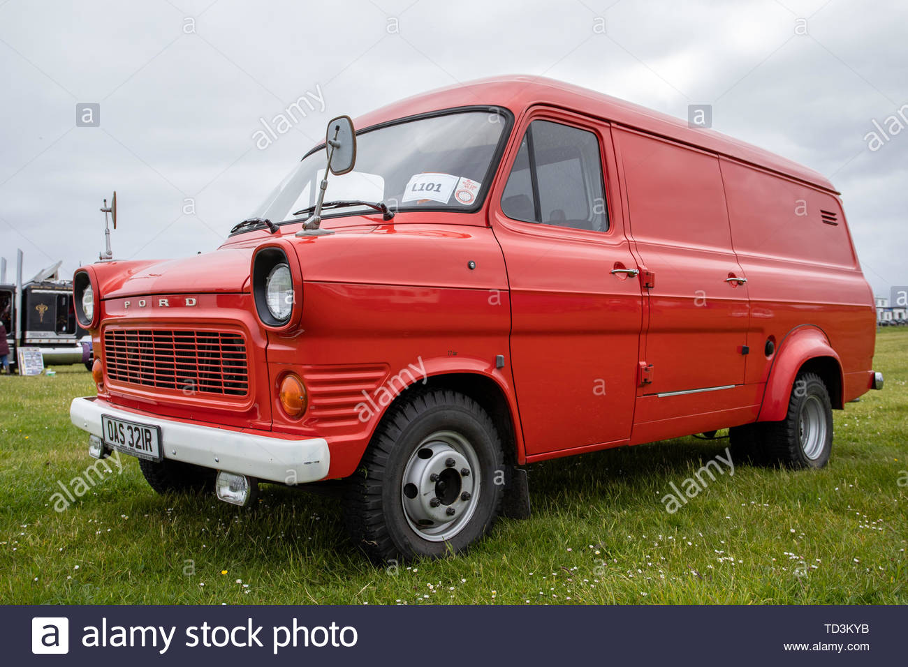 1977 Ford Transit 130 Stock Photo
