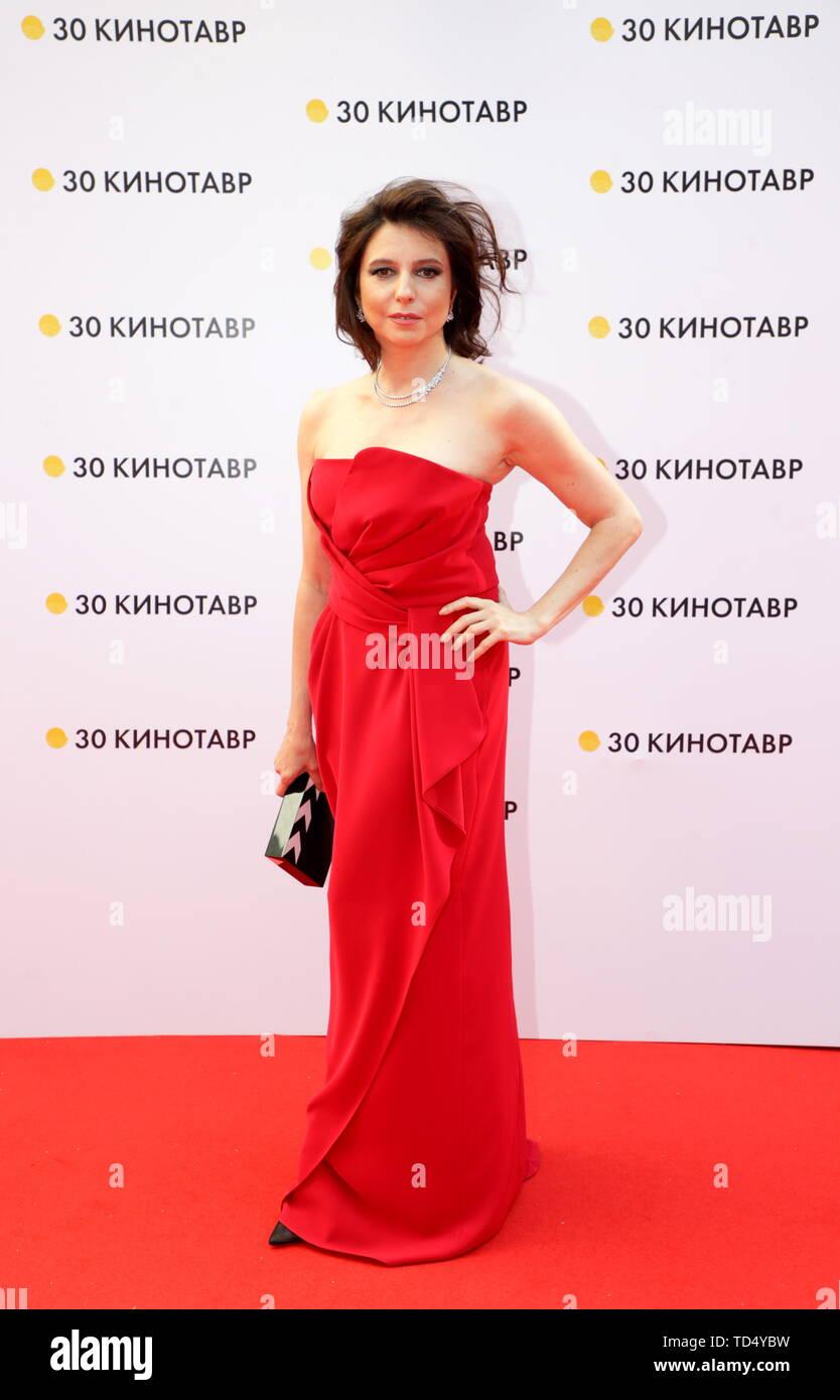 Alisa Khazanova sochi, russia – june 9, 2019: film director and actress