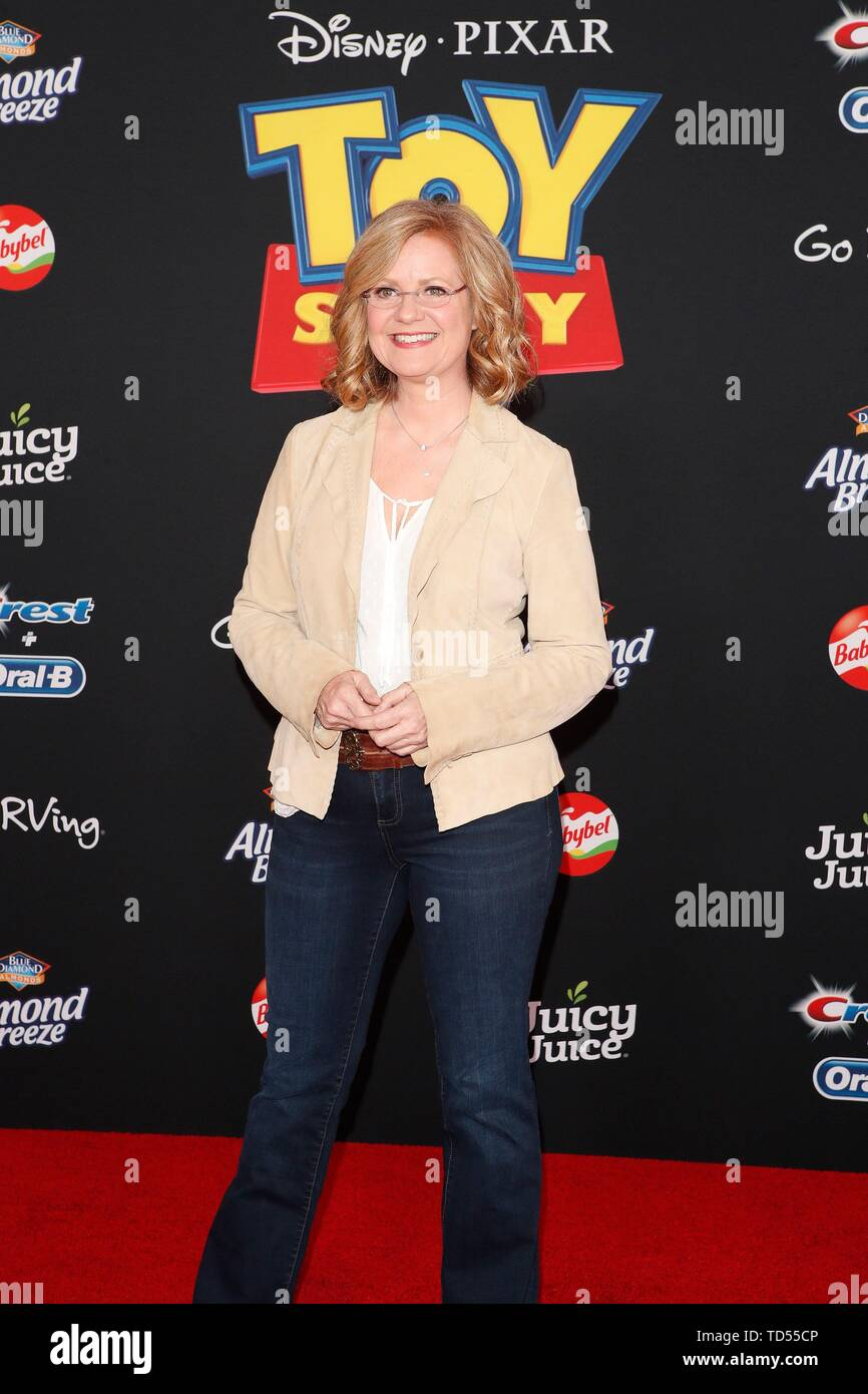 Bonnie Hunt at arrivals for TOY STORY 4 Premiere, El Capitan Theatre, Los Angeles, CA June 11, 2019. Photo By: Priscilla Grant/Everett Collection - Stock Image