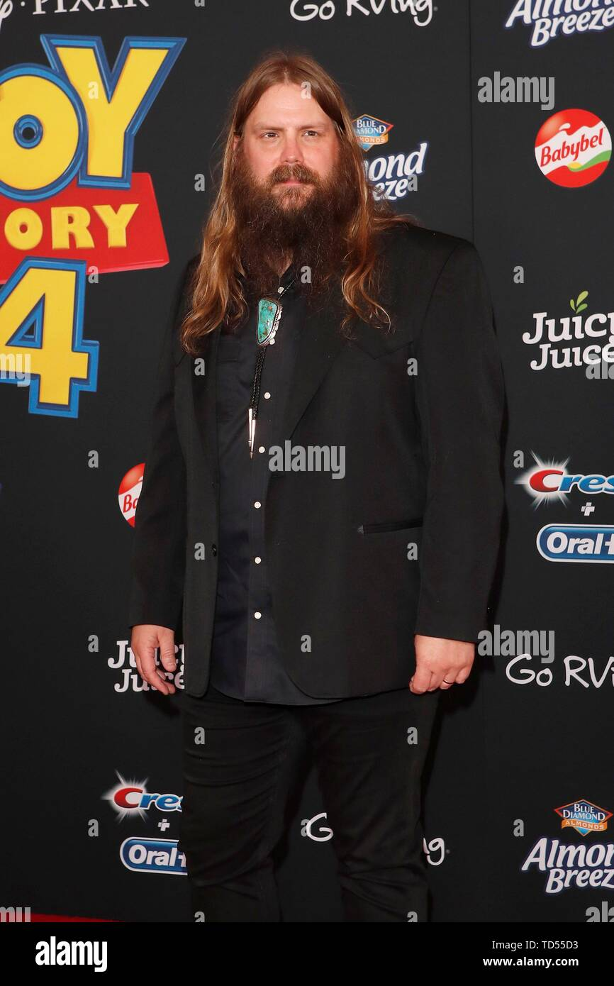 Chris Stapleton at arrivals for TOY STORY 4 Premiere, El Capitan Theatre, Los Angeles, CA June 11, 2019. Photo By: Priscilla Grant/Everett Collection - Stock Image