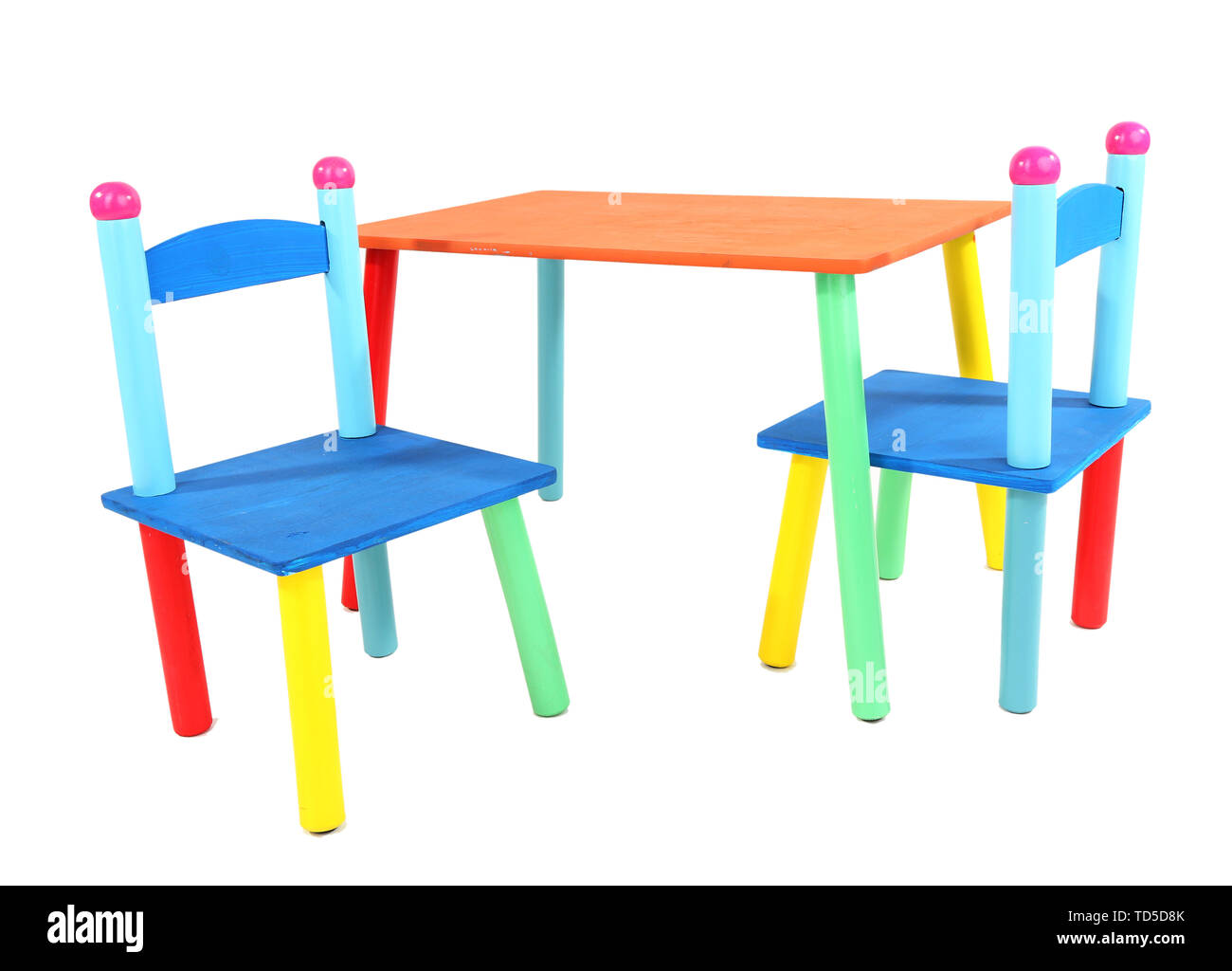 Phenomenal Small And Colorful Table And Chairs For Little Kids Isolated Gmtry Best Dining Table And Chair Ideas Images Gmtryco