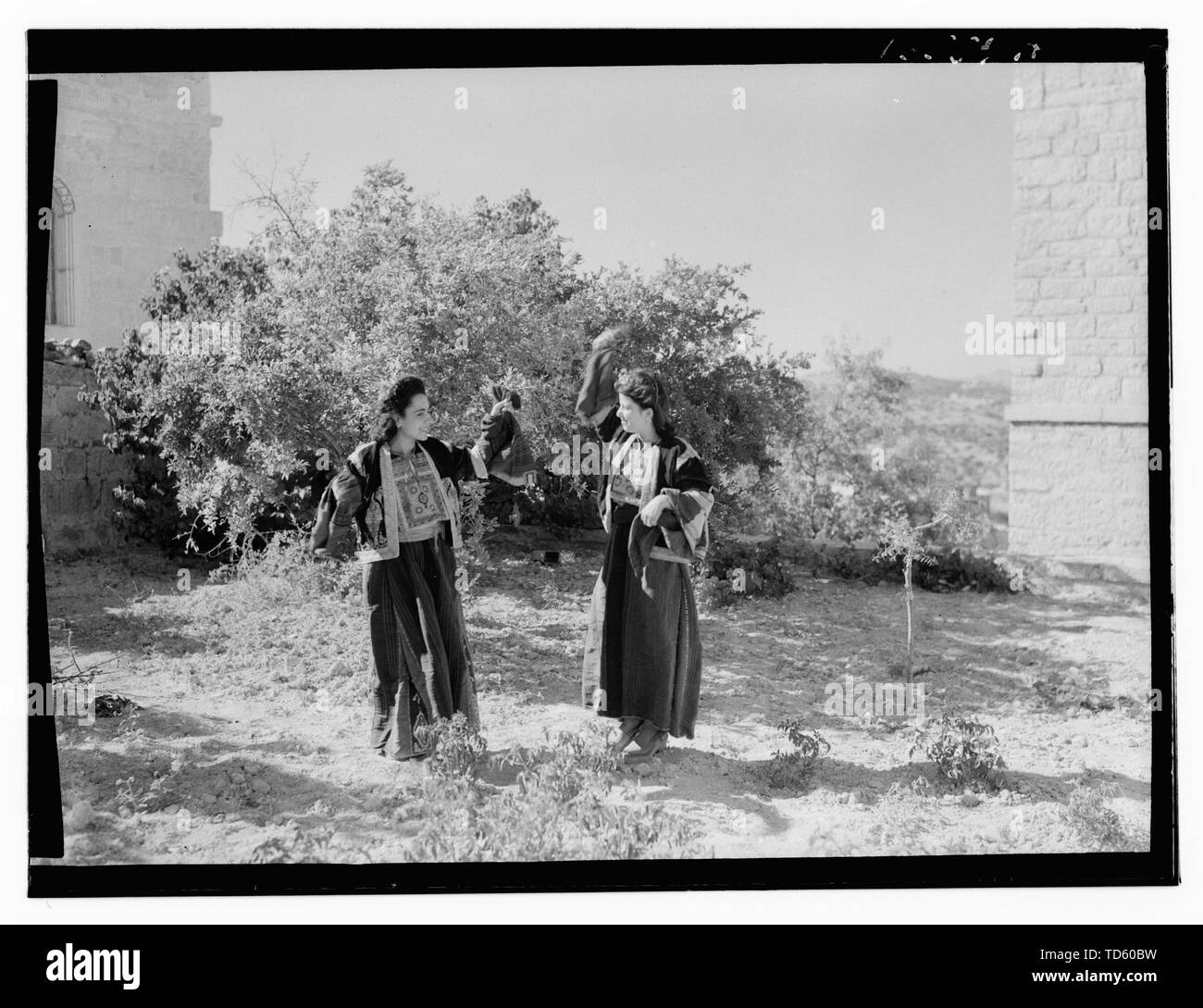 """""""English: Title: Ruth story Abstract/medium: G. Eric and Edith Matson Photograph Collection  Physical description: 1 negative:; between 1940 and 1946 Stock Photo"""