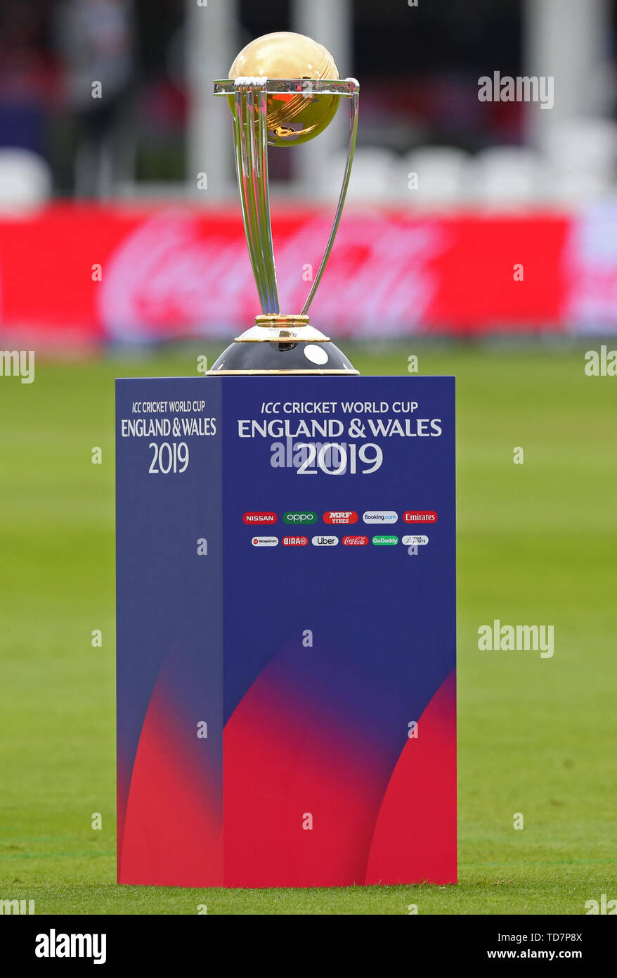 Cricket World Cup Trophy Stock Photos & Cricket World Cup