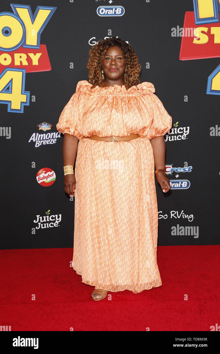 June 11, 2019 - Los Angeles, CA, USA - LOS ANGELES - JUN 11:  Retta at the ''Toy Story 4'' Premiere at the El Capitan Theater on June 11, 2019 in Los Angeles, CA (Credit Image: © Kay Blake/ZUMA Wire) - Stock Image