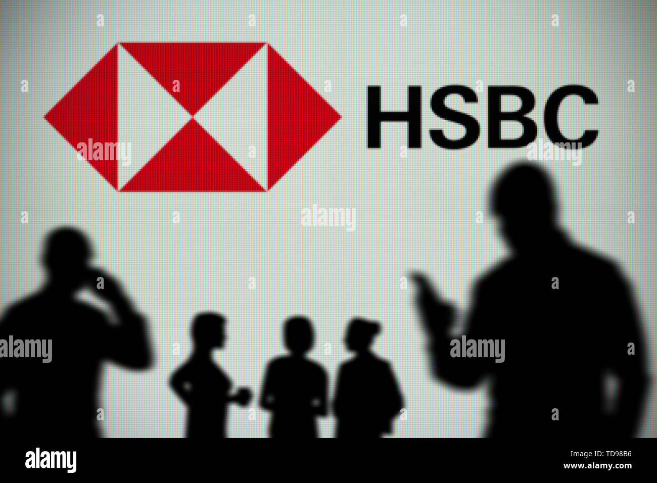 Hsbc Screen Stock Photos & Hsbc Screen Stock Images - Alamy