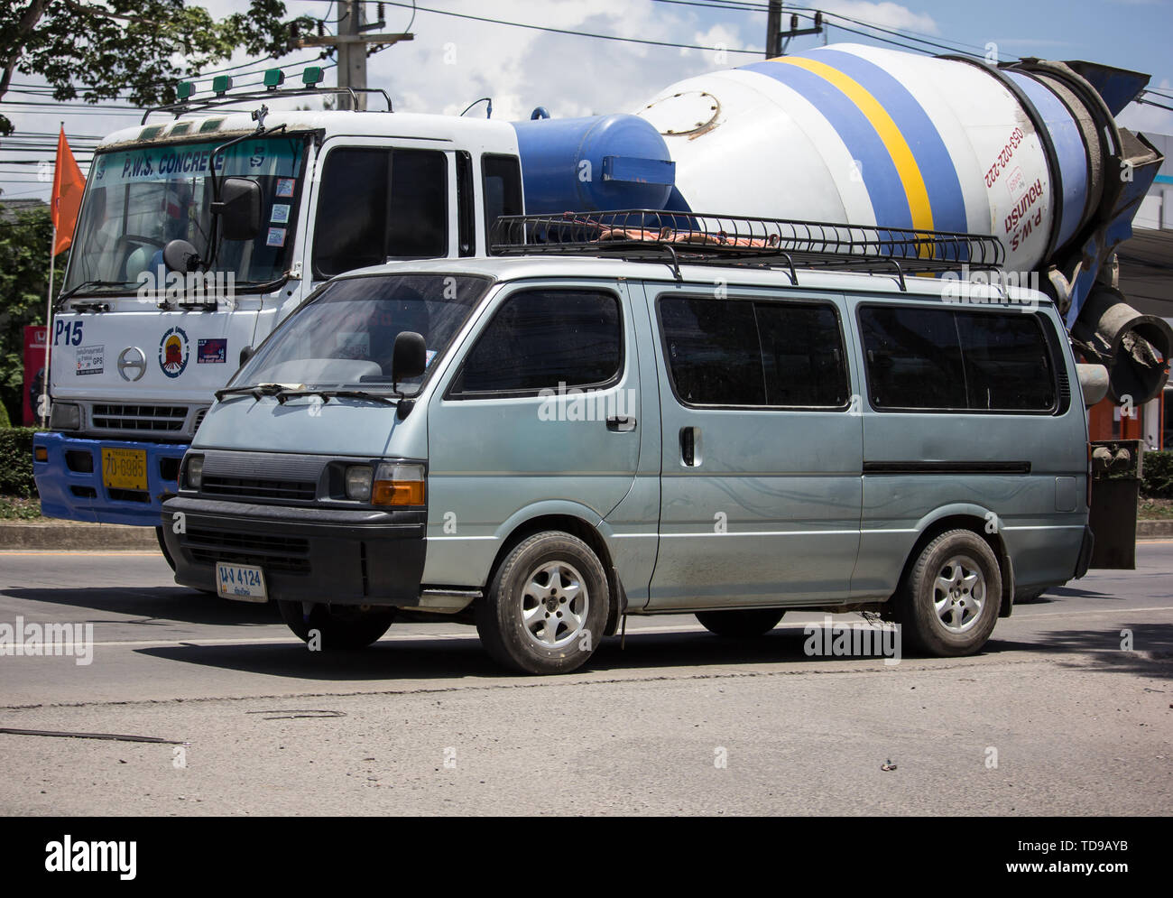 Toyota Hiace Stock Photos & Toyota Hiace Stock Images - Alamy