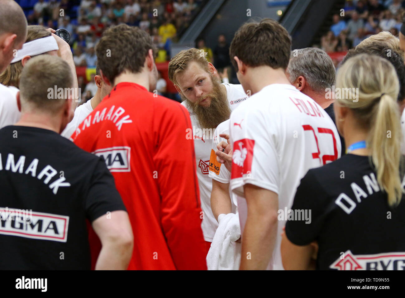 Kyiv Ukraine June 12 2019 Players Of Denmark National
