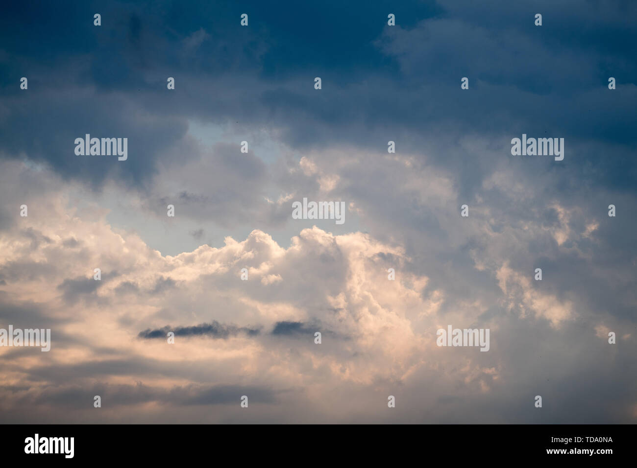 Clouds in Gdansk, Poland. June 1st 2019 © Wojciech Strozyk / Alamy Stock Photo - Stock Image