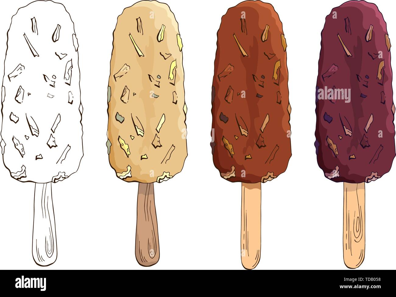 sleepy slowsnow   Ice cream art, Ice cream illustration, Ice cream wallpaper