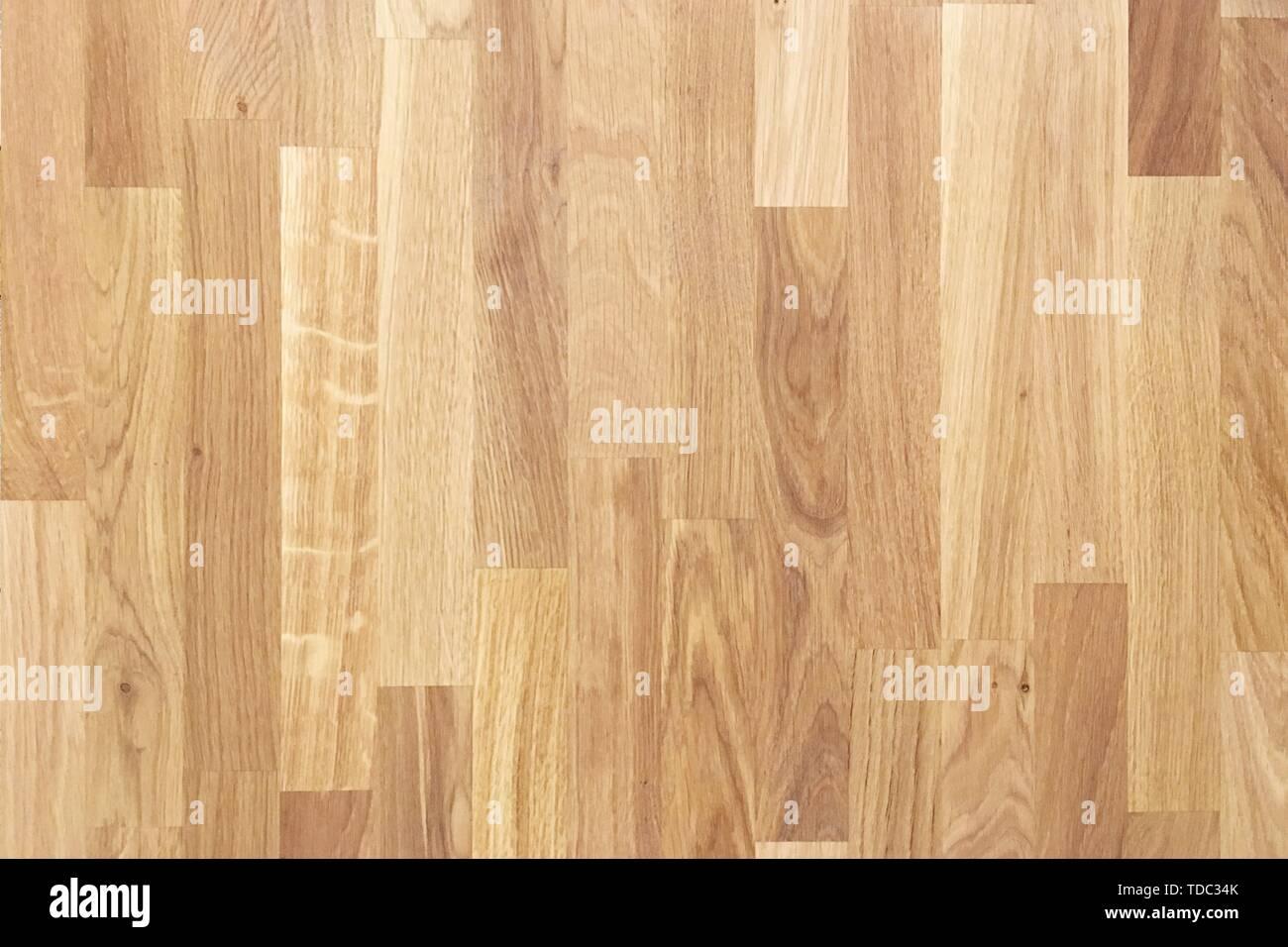 wooden parquet texture, wood floor background - Stock Image