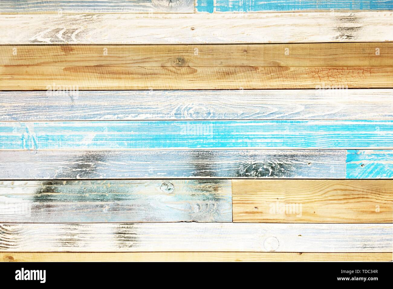 wood parquet texture, colorful wooden floor background - Stock Image