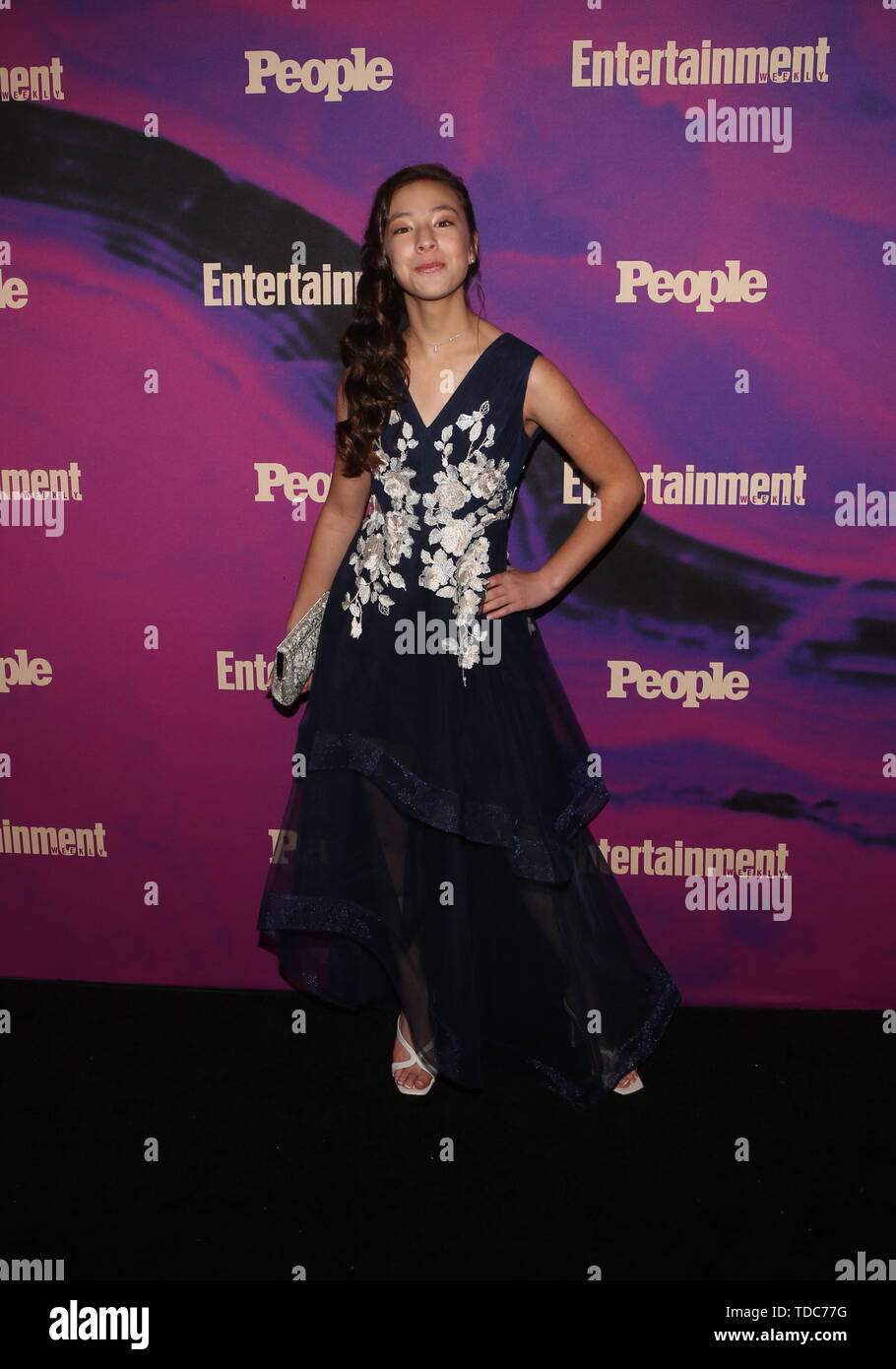 Entertainment Weekly  &  PEOPLE celebrate the New York Upfronts with a VIP cocktail  party at Union Park in NYC  Featuring: Aubrey Anderson-Emmons Where: New York, New York, United States When: 14 May 2019 Credit: Derrick Salters/WENN.com - Stock Image