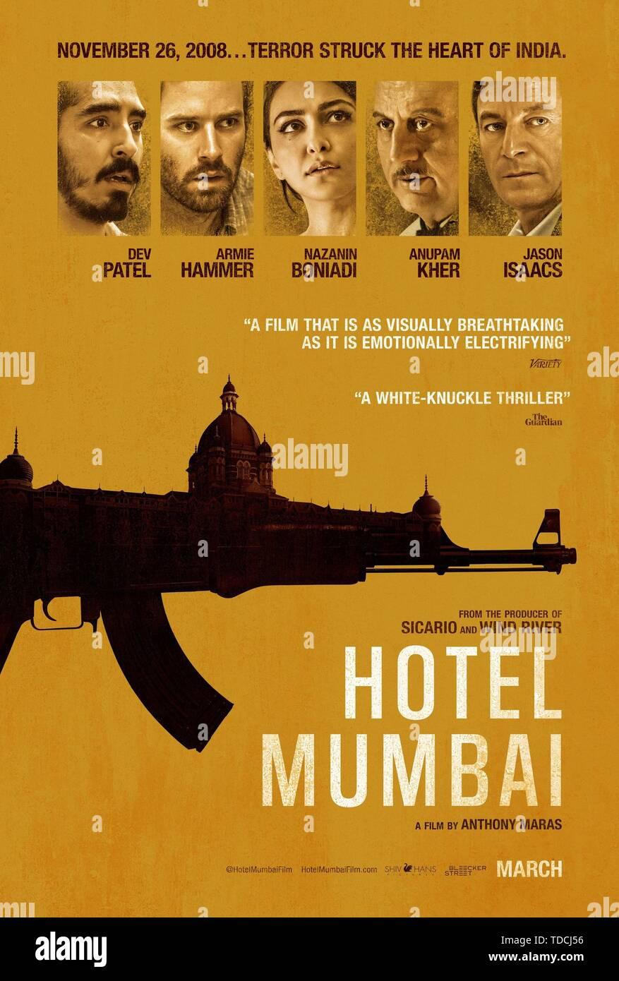 HOTEL MUMBAI (2018). Credit: SCREEN AUSTRALIA / Album - Stock Image