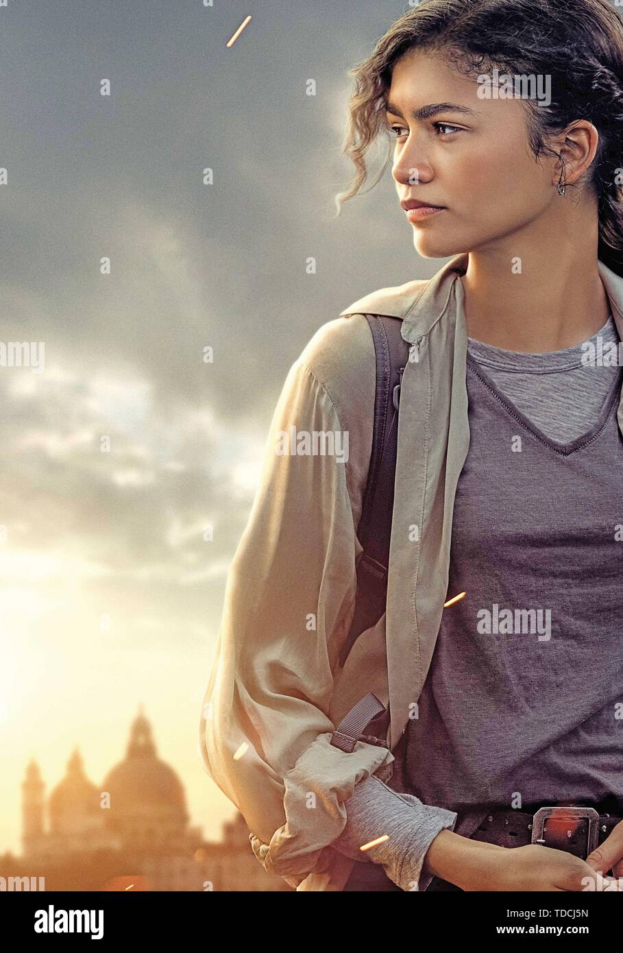 Zendaya In Spider Man Far From Home 2019 Credit Columbia Pictures Marvel Entertainment Album Stock Photo Alamy
