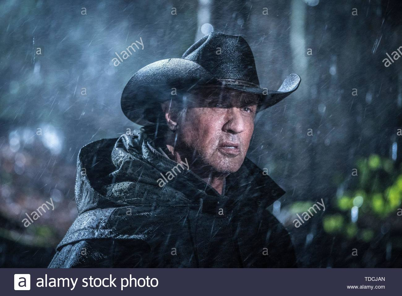 SYLVESTER STALLONE in RAMBO: LAST BLOOD (2019). Credit: LIONSGATE / Album - Stock Image