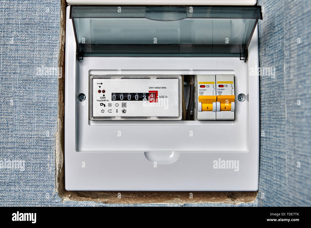 Electricity Meter Stock Photos & Electricity Meter Stock