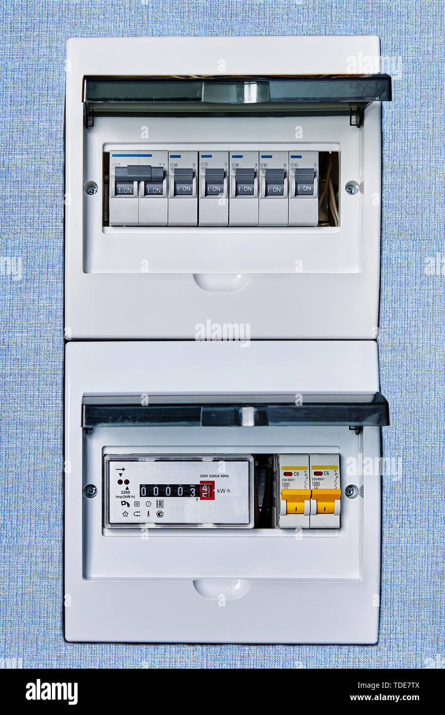 Fuse Box Circuit Breaker High Resolution Stock Photography and Images -  AlamyAlamy
