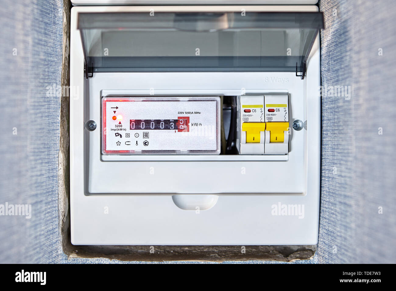domestic fuse box high resolution stock photography and images - alamy  alamy