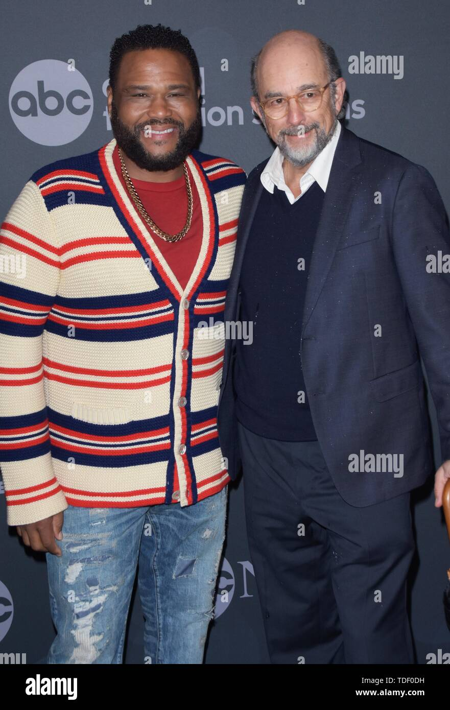 ABC Disney Upfront NYC  Featuring: Anthony Anderson Where: NYC, New York, United States When: 15 May 2019 Credit: Patricia Schlein/WENN.com - Stock Image