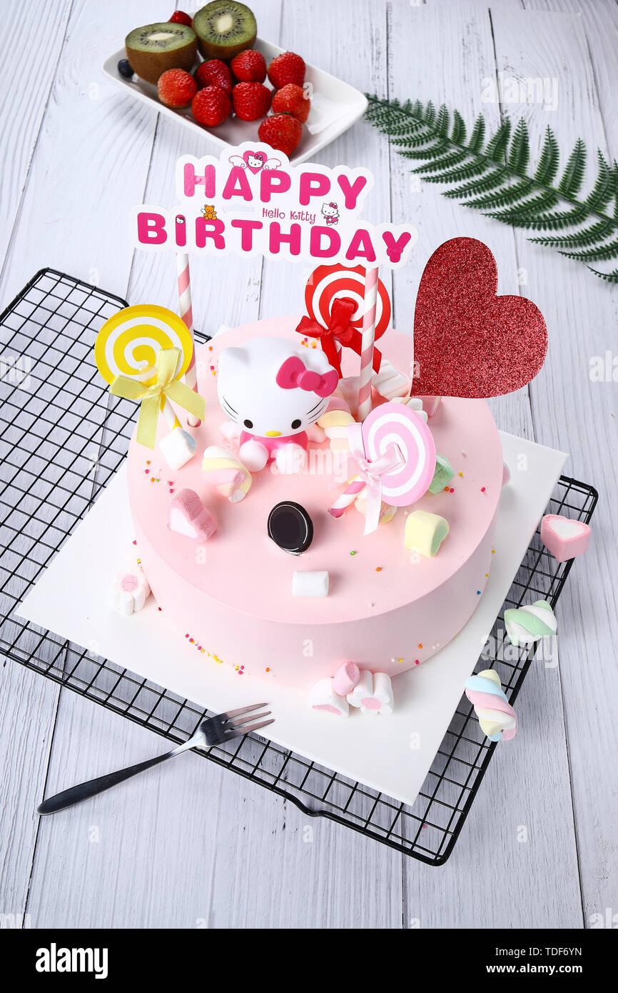 Superb Birthday Cake Fruit Chocolate Cream Sandwich Baked Desserts 8 Inch Funny Birthday Cards Online Sheoxdamsfinfo