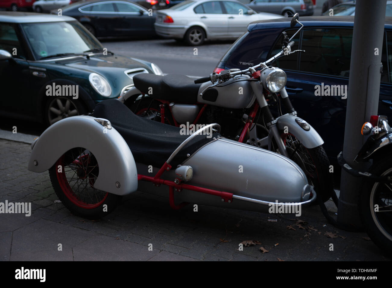 Bmw Motorcycle Sidecar Stock Photos & Bmw Motorcycle Sidecar