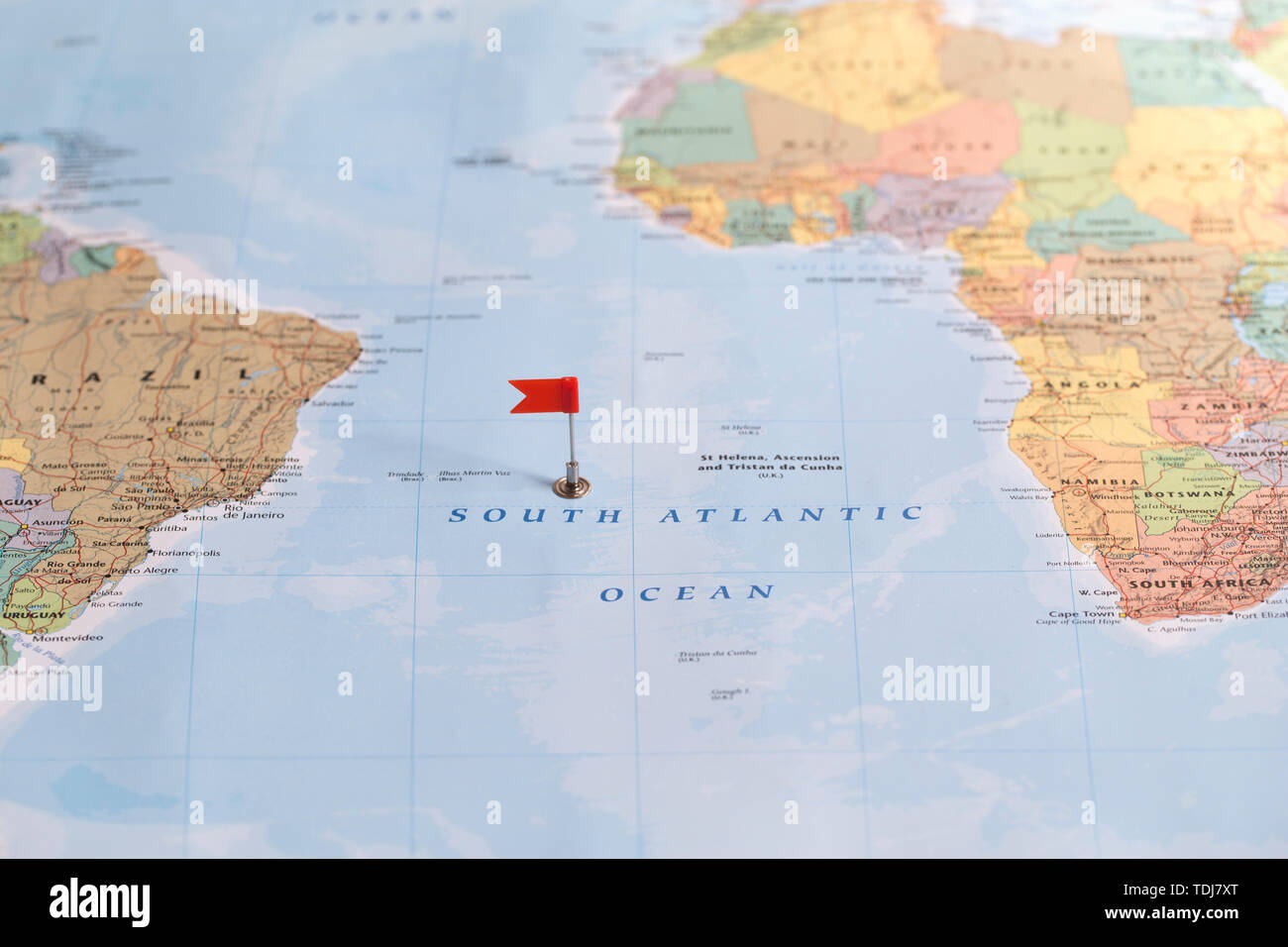 South Atlantic Ocean Map High Resolution Stock Photography And Images Alamy