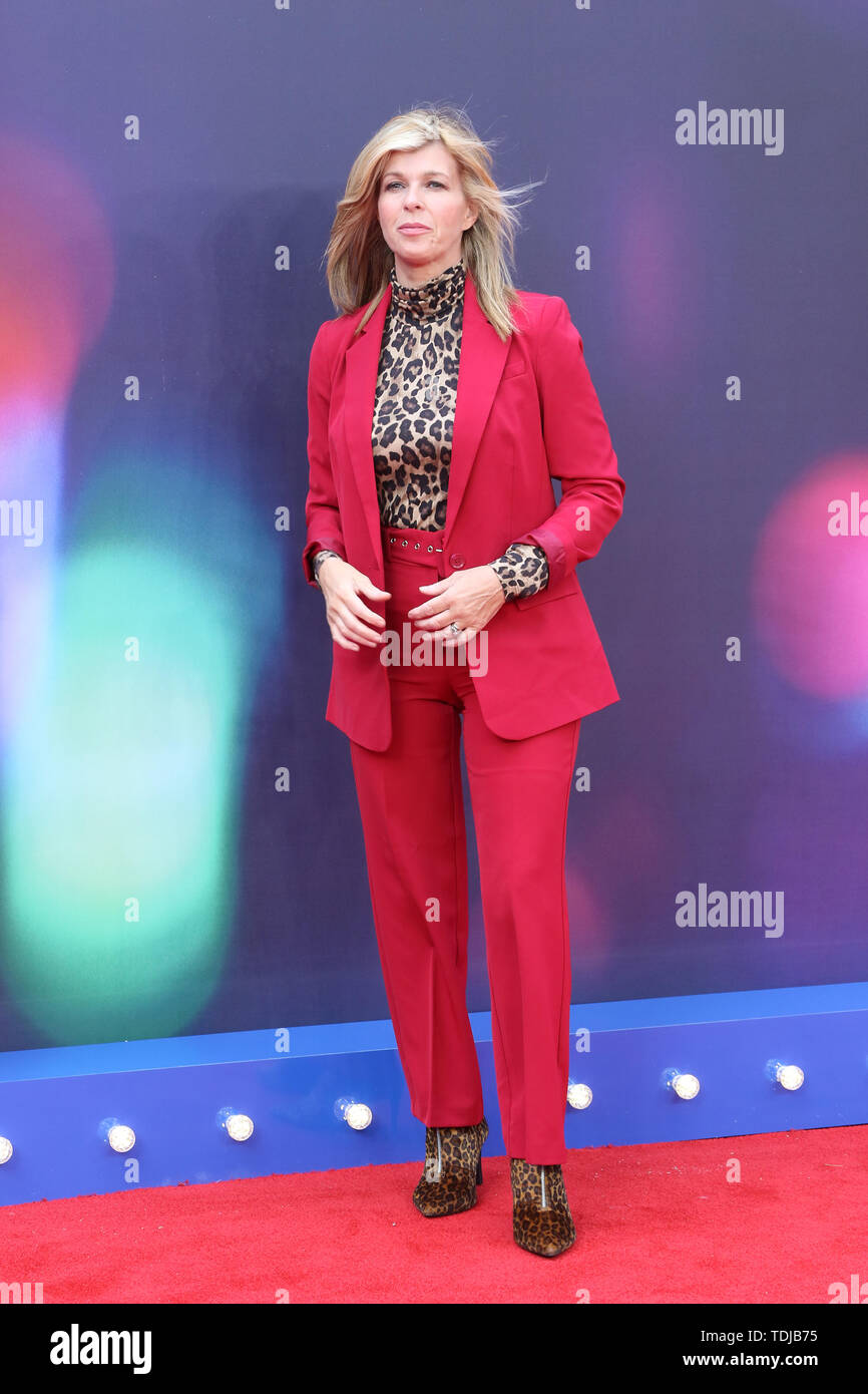 Kate Garraway, Toy Story 4 - European Premiere, Leicester Square, London, UK, 16 June 2019, Photo by Richard Goldschmidt - Stock Image