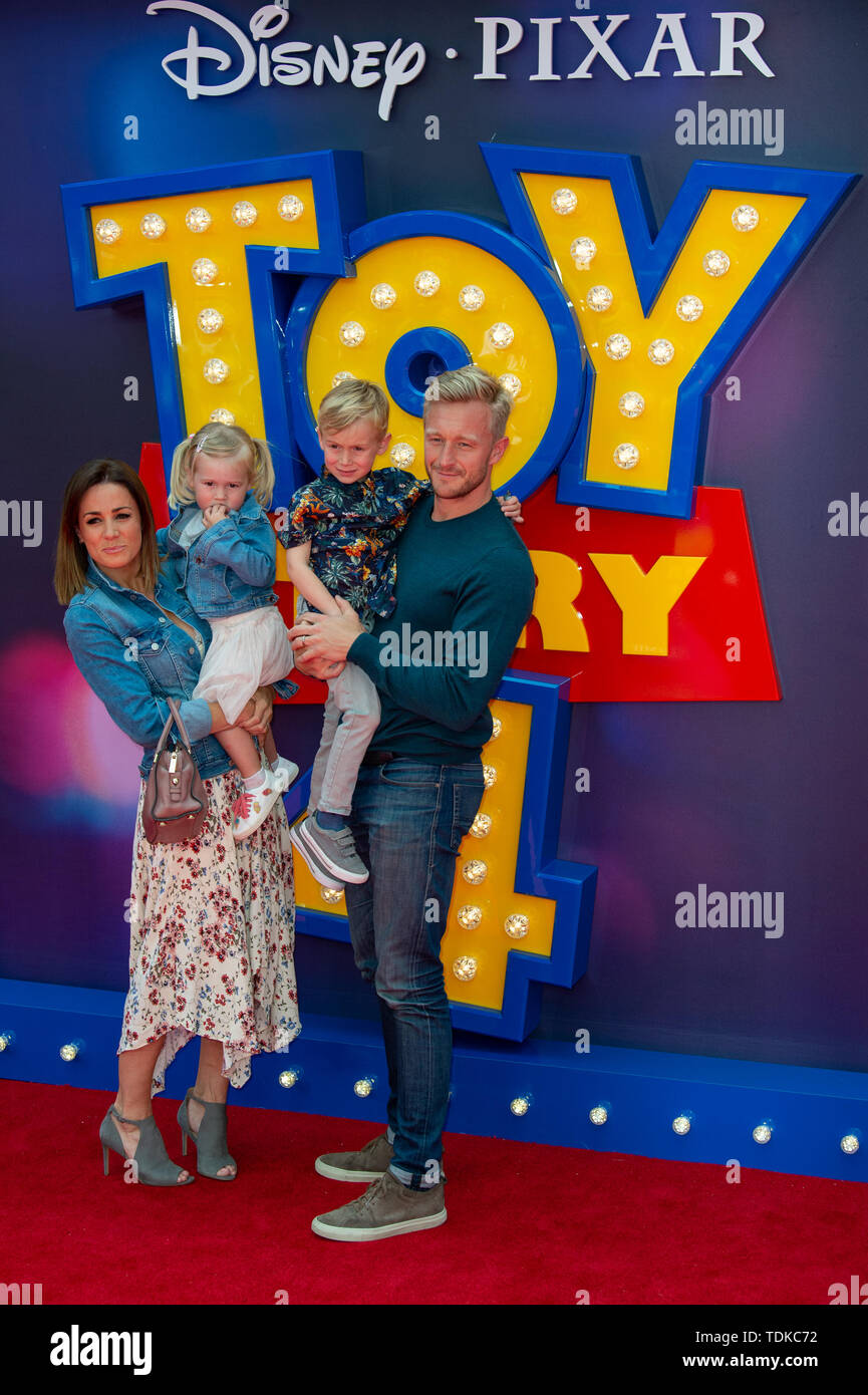 London, United Kingdom. 16 June 2019.  attends the European Premiere of 'Toy Story 4' held at the Odeon Luxe, Leicester Square in central London. Credit: Peter Manning/Alamy Live News - Stock Image