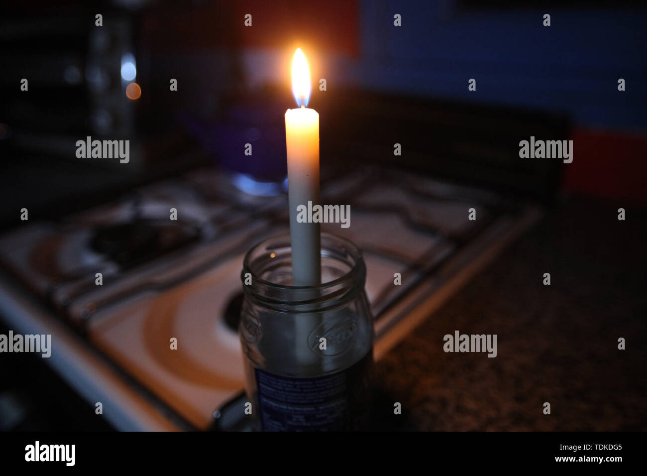 Buenos Aires, Buenos Aires, Argentina. 16th June, 2019. A blackout stripped all of mainland Argentina and Uruguay of power early Sunday, affecting tens of millions of people in an electrical failure that officials called unprecedented in its scope. Credit: Claudio Santisteban/ZUMA Wire/Alamy Live News - Stock Image