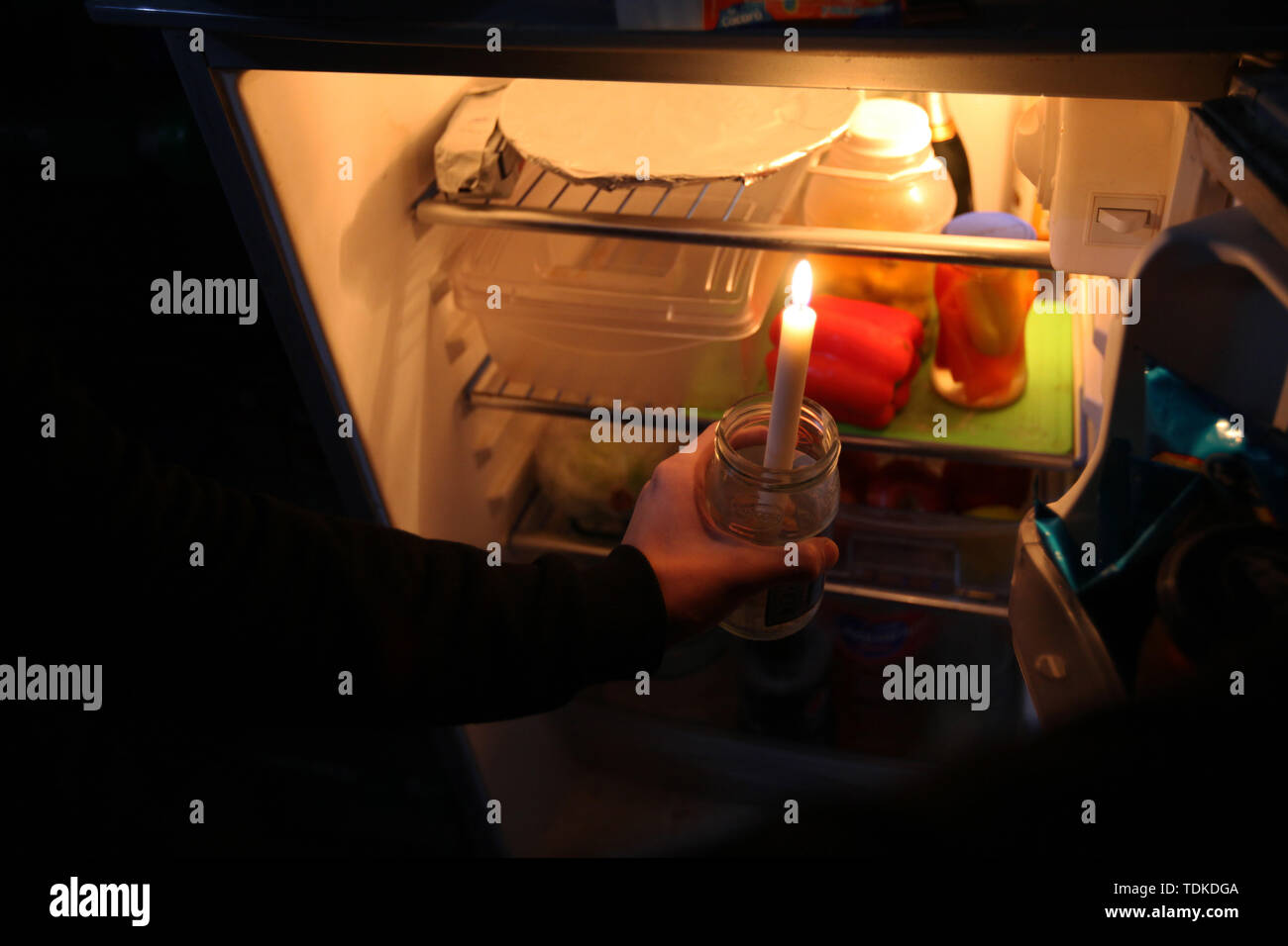 Buenos Aires, Buenos Aires, Argentina. 16th June, 2019. A blackout stripped all of mainland Argentina and Uruguay of power early Sunday, affecting tens of millions of people in an electrical failure that officials called unprecedented in its scope. Credit: Claudio Santisteban/ZUMA Wire/Alamy Live News Stock Photo