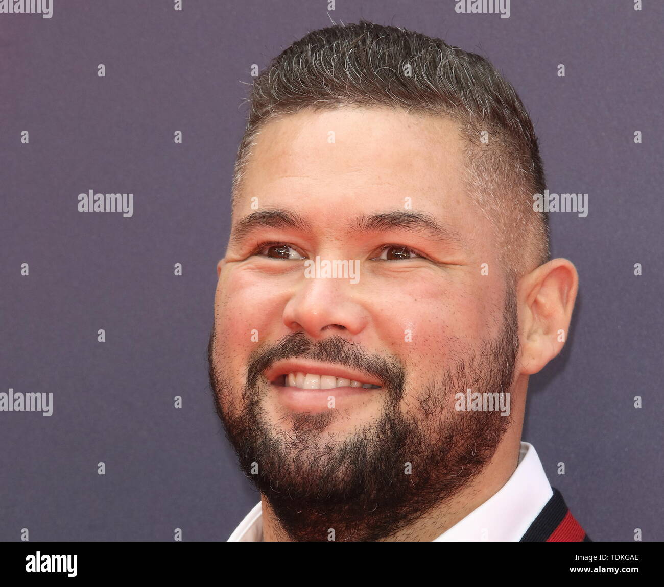 London, UK. 16th June, 2019. Tony Bellew attends the European Premiere of Toy Story 4 at Odeon Luxe, Leicester Square in London. Credit: SOPA Images Limited/Alamy Live News - Stock Image