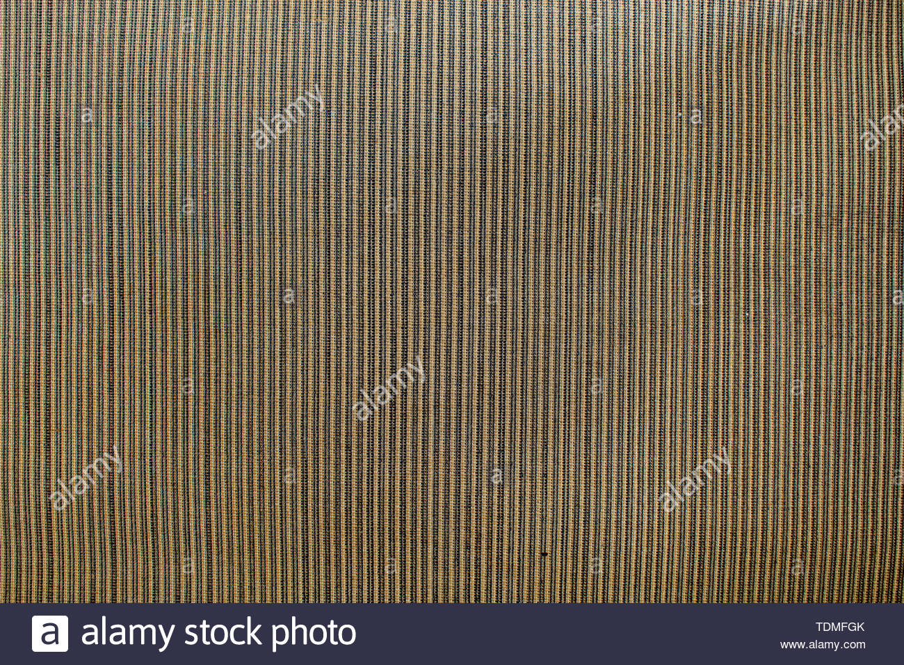 Fabric or textile detailed texture. Brown tones background. - Stock Image